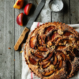 Ginger Tart with Nectarines