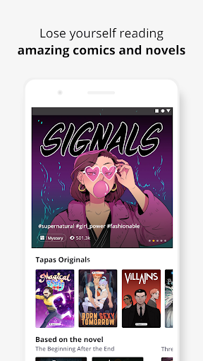 Tapas – Comics and Novels screenshot 2