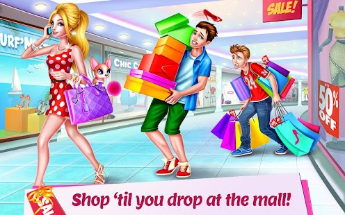 shopping mall girl style game android apps on google play