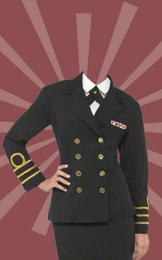 Air Hostess Photo Suit