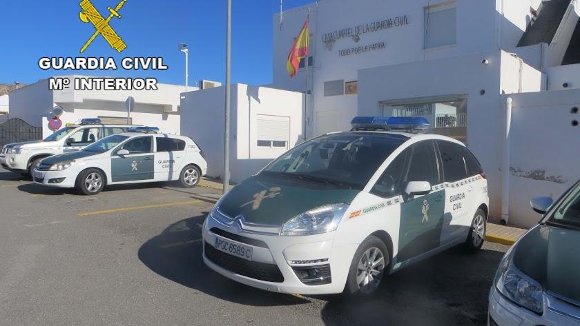 La actuación ha sido desarrollada por la Guardia Civil.