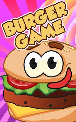 ハンバーガーを調理