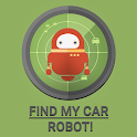 Find My Car Robot icon