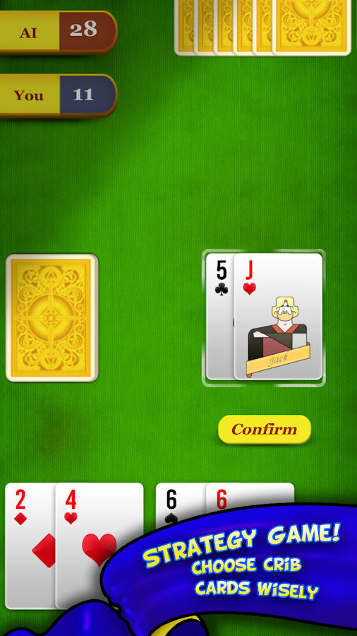 Cribbage- screenshot