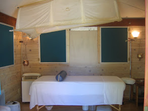 Photo: Yoga Farm, CA - Massage room