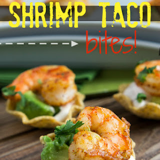 Shrimp Taco Bites