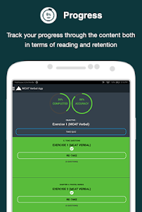 MCAT Verbal App- screenshot thumbnail
