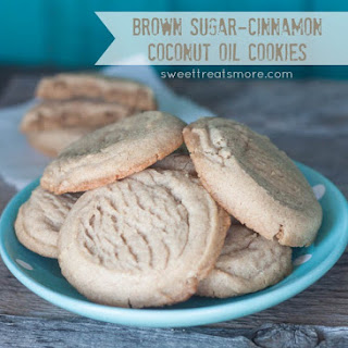 Brown Sugar-Cinnamon Coconut Oil Cookies.