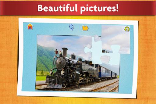 Cars, Trucks, & Trains Jigsaw Puzzles Game ud83cudfceufe0f 22.0 15