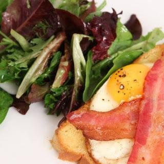 Open Faced Breakfast Sandwich Recipe