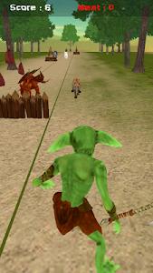 Goblin Jungle Run 3D screenshot 0