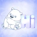 Poe Bear Sticker Pack by Pomelo Tree icon