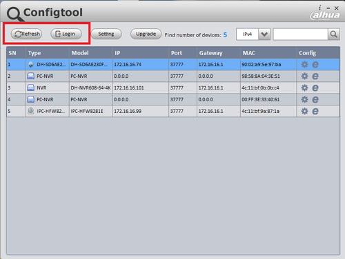 Hướng dẫn cập nhật Firmware Dahua qua ConfigTool 2020 1