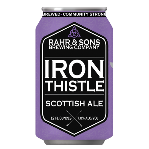 Logo of Rahr & Sons Iron Thistle