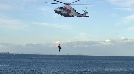 Concluye con éxito el rescate de los seis atrapados en Cala Rajá desde el sábado