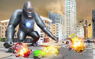 Gorilla Robot Rampage