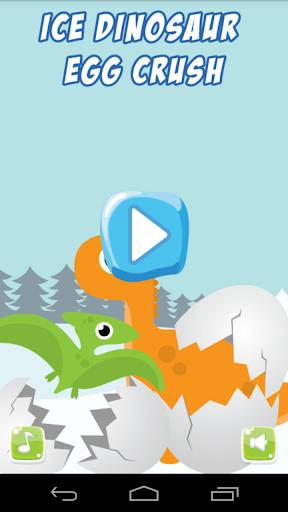 Ice Dinosaur EGG Crush