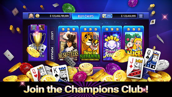 Champions Club Casino - náhled