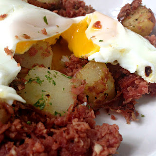 Garlic Corned Beef Hash