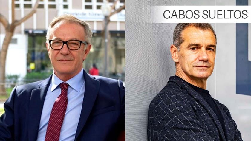 José Guirao y Toni Cantó.