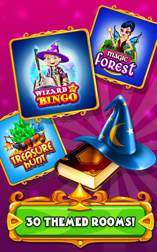Wizard of Bingo Screenshot
