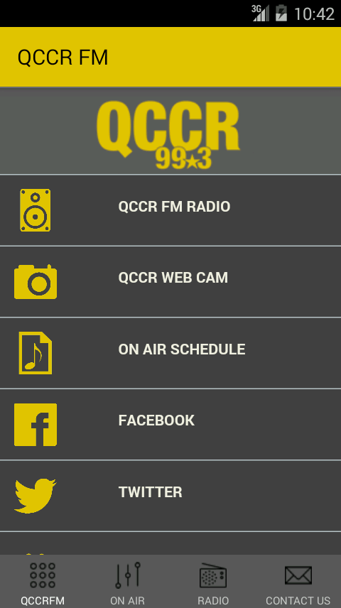 QCCR FM Radio- screenshot