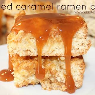 ~Salted Caramel Ramen Bars!