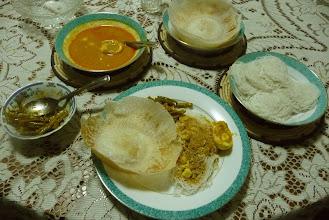 Photo: Sri Lankan Meal with Hoppers Wattala