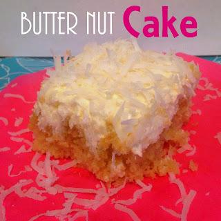 Butter Nut Cake