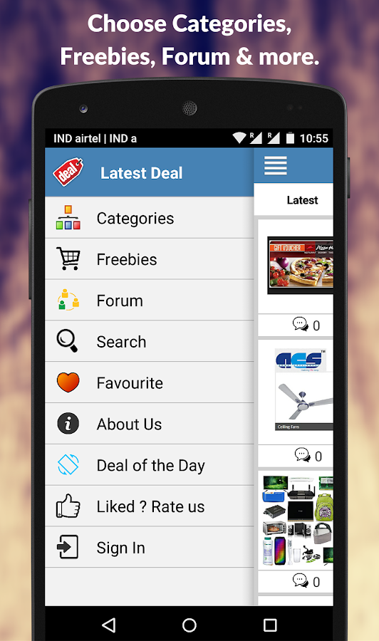 IndiaFreeStuff Deals Coupons Free Sample  Recharge- screenshot