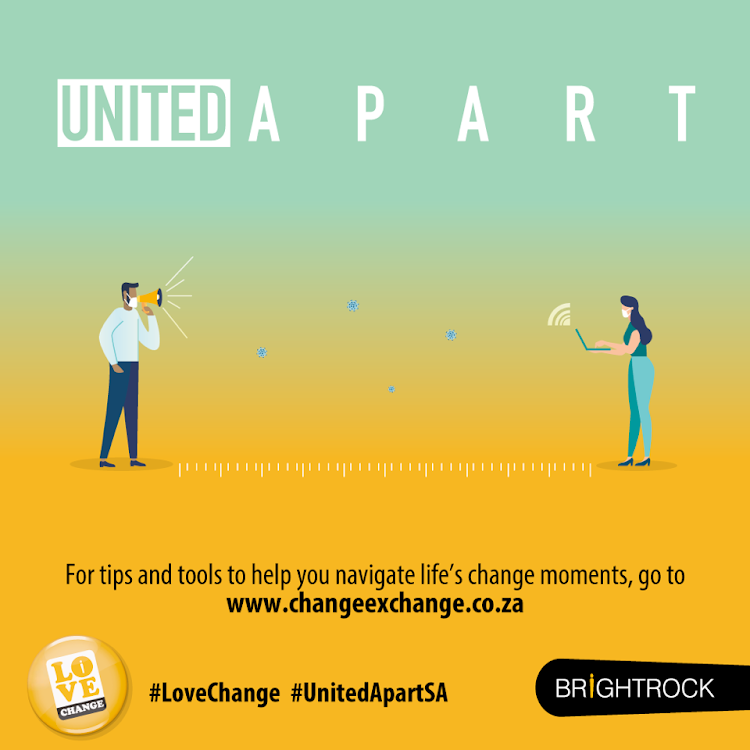 Visit changeexchange.co.za for tips and tools to help you navigate your life's change moments.
