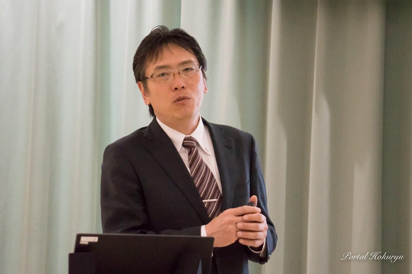 酪農学園大学食品企画開発研究室・阿部茂 教授