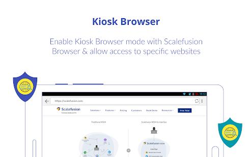 Scalefusion (Formerly MobiLock)- MDM & Kiosk Agent apk free download