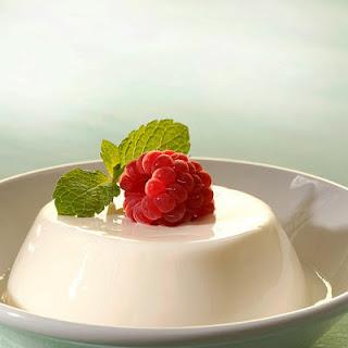 White Chocolate Panna Cotta.
