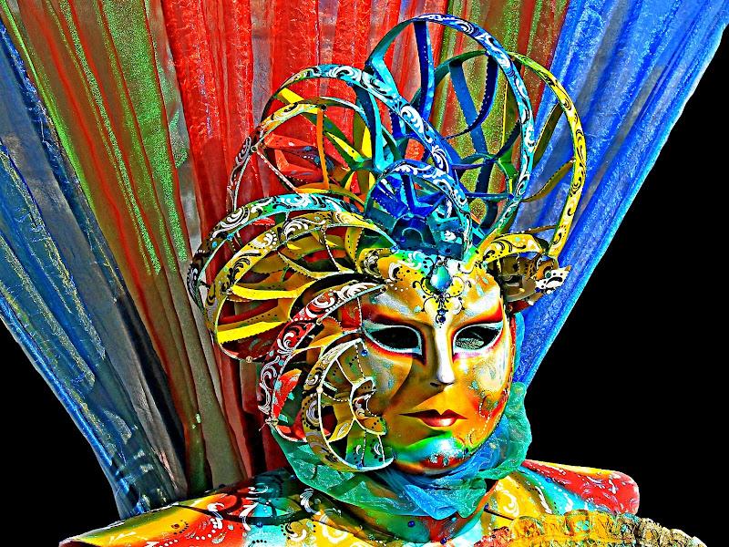 "Maschera ""Arcobaleno"" di marvig51"