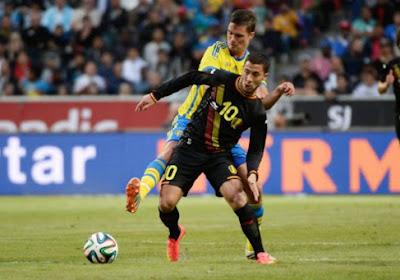 """Eden Hazard: """" Wilmots veut que je tente plus ma chance """""""
