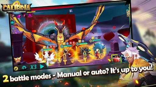 Code Triche Calibria: Crystal Guardians mod apk screenshots 6