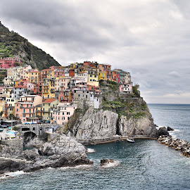 Cinque Terre National Park by Nelida Dot - Buildings & Architecture Public & Historical ( italian village sea )
