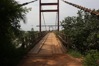 Photo: Year 2 Day 23 - Rickety Wooden Bridge on Dirt Track