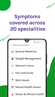 DocsApp - Consult Doctor Online 24x7 on Chat/Call Screenshot