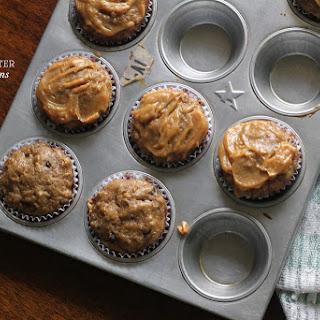Skinny Peanut Butter-Banana Muffins