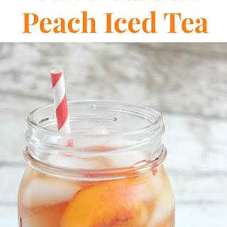 Copycat Olive Garden Peach Iced Tea.