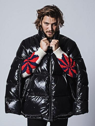 Luke Grimes in Calvin Klein 205w39nyc Jacket