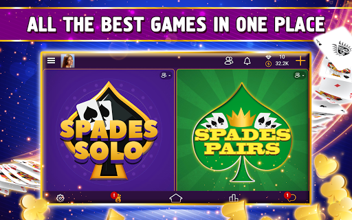 VIP Spades - Online Card Game 3.6.85 screenshots 12