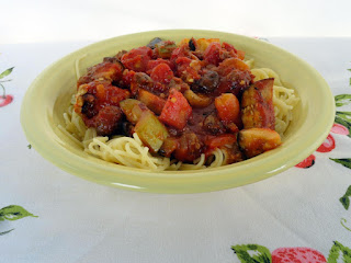 Spicy Ratatouille With Sausage & Spaghetti Recipe
