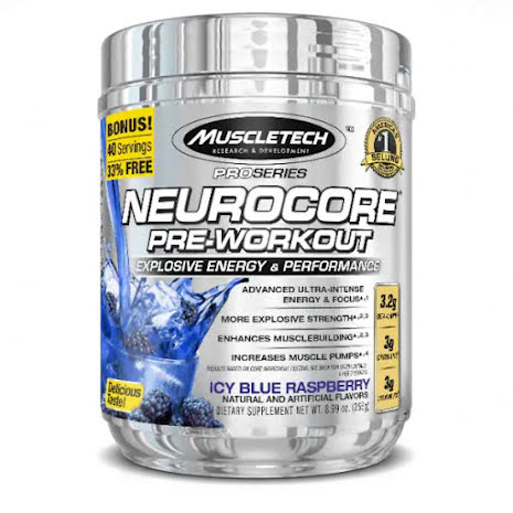 Muscletech Neurocore 224g - Icy Blue Raspberry