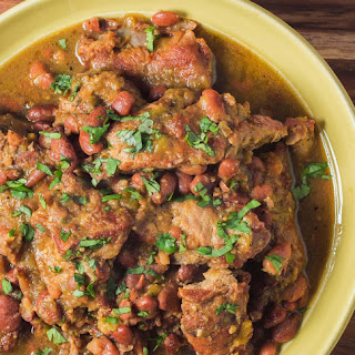 Braised Pork with Tomatillos and Green Chilies Recipe