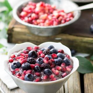 Frozen Blueberry Smoothie Bowl