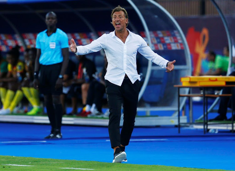 Herve Renard ex-head coach of Morocco.