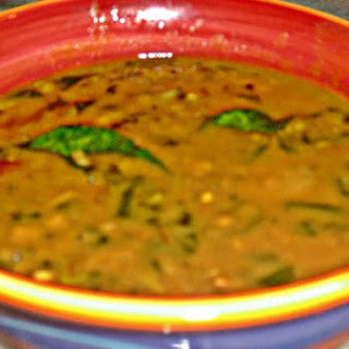 Lentil Soup With Medley Of Greens